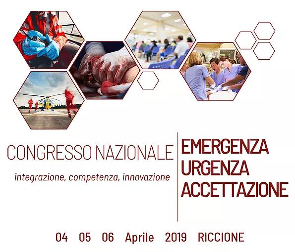 04/04/19 – POSTI GRATUITI – Congresso Nazionale Emergenza Urgenza ed Accettazione