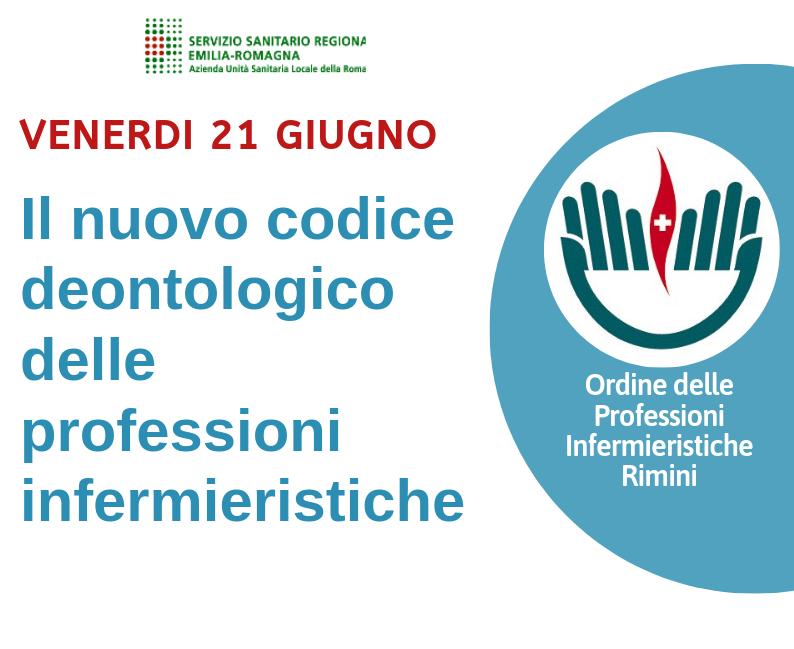 21/06/2019 – Il nuovo codice deontologico delle professioni infermieristiche