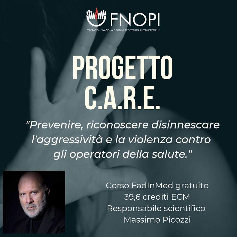Corso FAD – Prevenire, riconoscere e disinnescare l'aggressività e la violenza contro gli operatori della salute