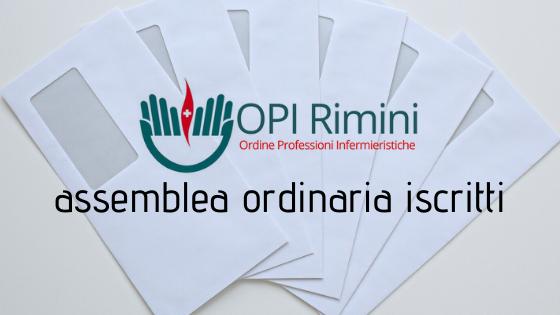 Assemblea ORDINARIA degli iscritti 24/02/2021 (rinviata)