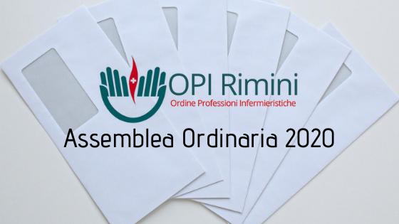 Convocazione Assemblea Ordinaria 16/09/2020