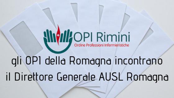 Gli OPI della Romagna incontrano il Direttore Generale AUSL Romagna