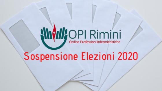 Sospensione Elezioni OPI Rimini 2020