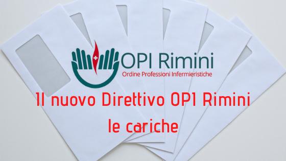 Le cariche del Direttivo OPI Rimini 2021/2024