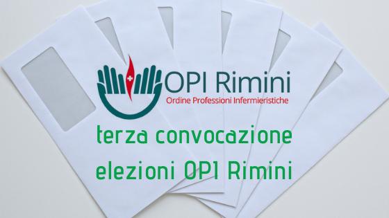 Terza convocazione Elezioni OPI Rimini