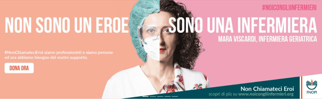 Attivo nuovamente il Fondo di solidarietà #NoiConGliInfermieri