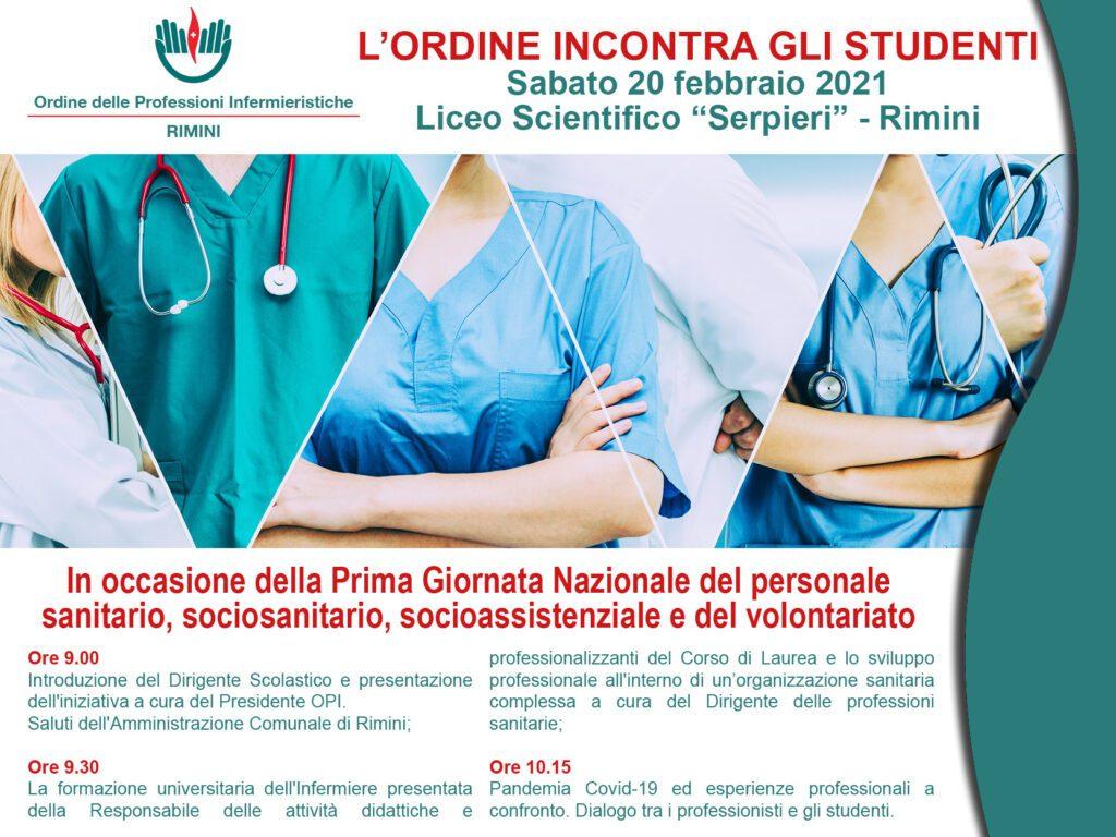"""l'Ordine incontra gli Studenti: 20/02/21 Liceo Scientifico """"Serpieri"""""""