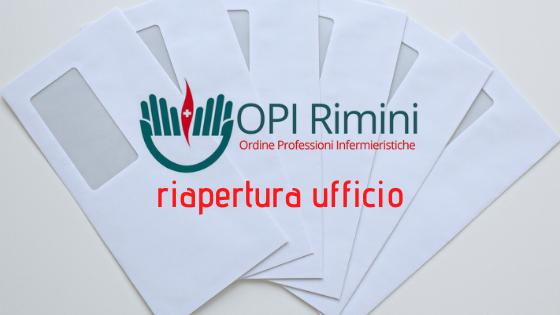 Riapertura ufficio OPI Rimini